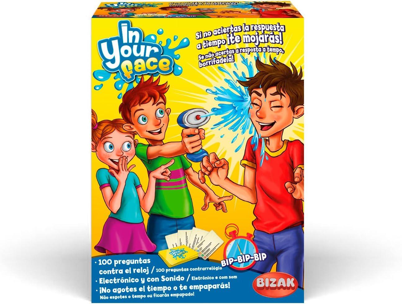 Bizak-En tu Cara, Juego de Mesa (35001917): Amazon.es: Juguetes y ...