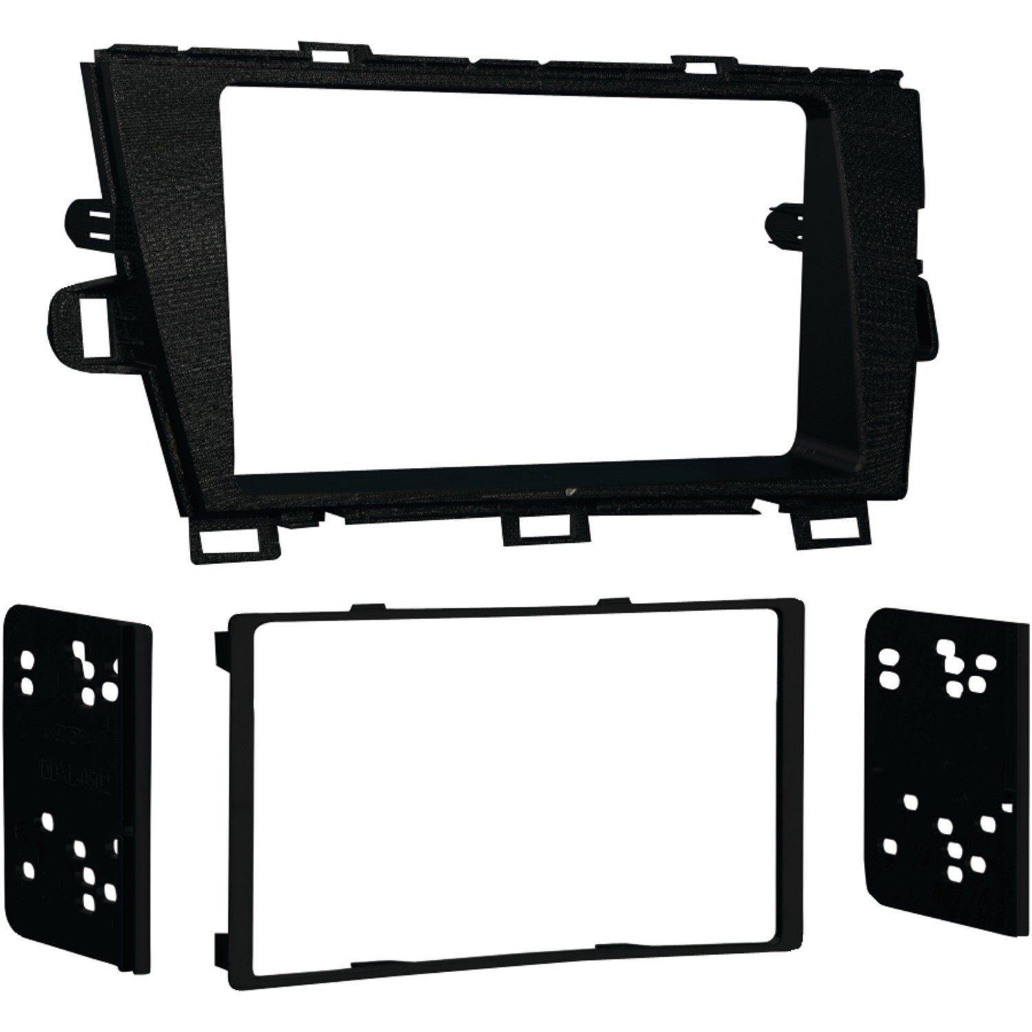 Metra 95-8226B Dash Kit for Toyota Prius 2010 Double DIN (Black)