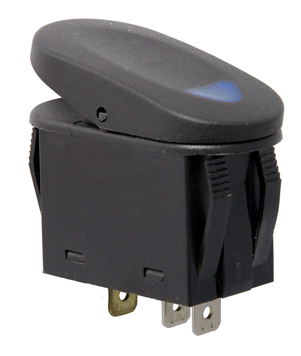Amazon.com: Rugged Ridge 17235.03 Blue 2-Position Rocker Switch: Automotive