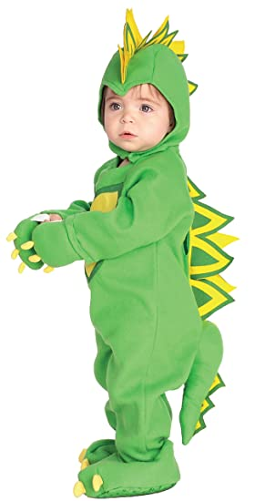 Rubies Dragon / Dinosaur Child Romper Halloween Infant Costume size 6-12 months INFANT  sc 1 st  Amazon.com & Amazon.com: Rubieu0027s Costume EZ-On Romper Costume Dragon/Dinosaur ...