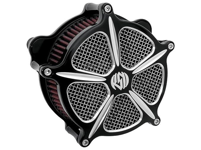 Roland Sands Design speed-5 contraste corte Venturi Filtro de aire ...