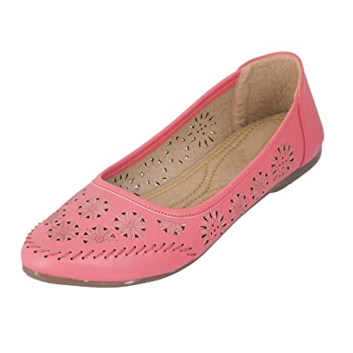9ba80e6f9ba Juti Kasoori Casual Wear Flat Belly Latest Arrival Party Wear Casual Wear  New Collection Belly Shoes for Women   Girls  Buy Online at Low Prices in  India ...