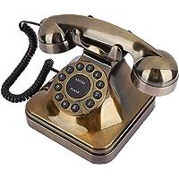 Telefono Antiguo Vintage - Teléfono Fijo con Cable Teléfonos de Sobremesa Telefonos Fijos Vintage para Casa Oficina…