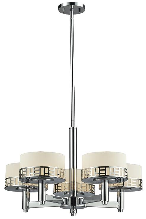 Amazon.com: Z-Lite 328 – 5 Elea 5 luz 1 Tier Lámpara ...