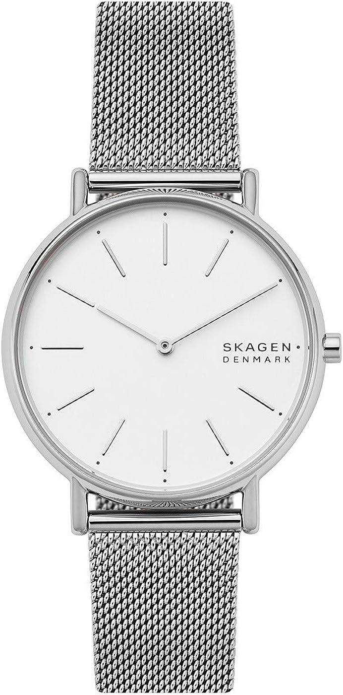 Skagen Reloj Analógico para Mujer de Cuarzo con Correa en Acero Inoxidable SKW2785