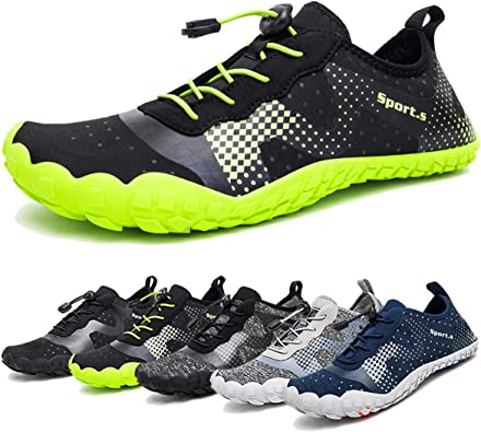 Unisex Summer Water Shoes Water Sport Barefoot Quick Dry Slip-on Lightweight Sneaker Outdoor Athletic Kayaking Boating Swim Dive Socks for Women Men