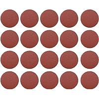 MERIGLARE 20 x 75 mm 3 inch slijpschijven schuurpad polijstpad glaspapier - P60