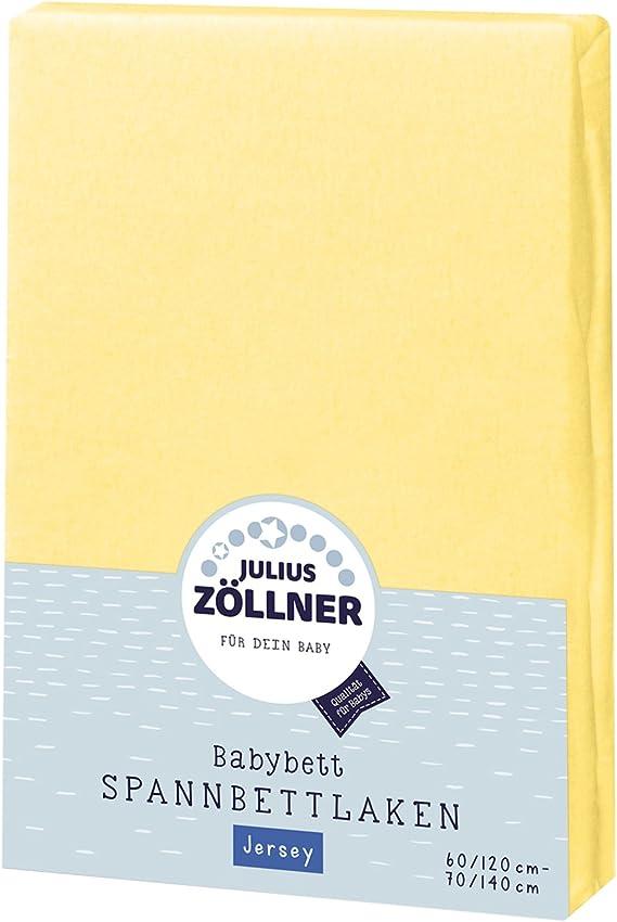 Colore: ecru Julius Z/öllner 8320113230 Dimensione: 60 x 120 cm//70 x 140 cm Coprimaterasso Jersery per Lettino