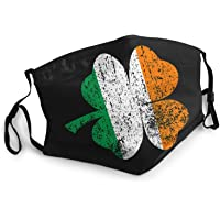 Galucky St.Patrick's Day Safety Washable and Reusable Scarf Face Cover for Protection