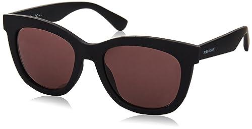 Boss Orange Für Frau 0199 Matte Black / Mauve Kunststoffgestell Sonnenbrillen