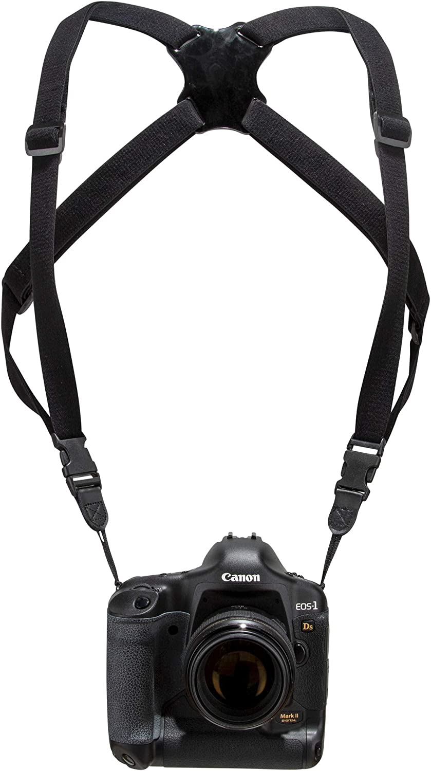 4 Way Adjustable with Quick Release Buckles North Mountain Gear Binoculars Harness DSLR Camera Harness Strap