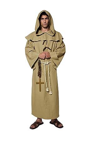 Smiffys - Disfraz de Cura para Hombre, Talla M (36275M-KIT ...