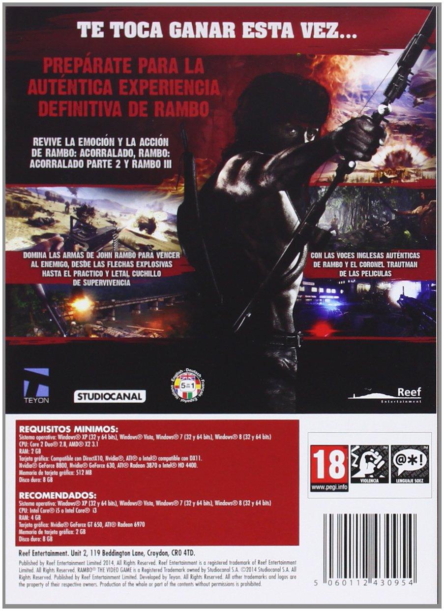 Rambo: Amazon.es: Videojuegos