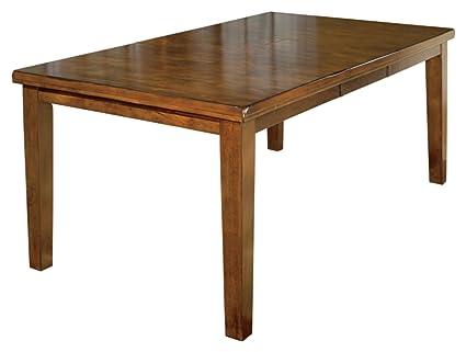 amazon com ashley furniture signature design ralene dining room rh amazon com dining room tables with leaves dining room tables with leaves