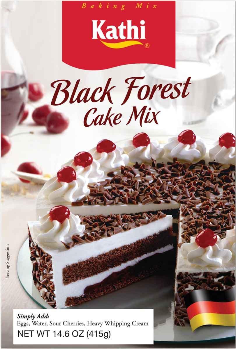 Kathi Black Forest Cake Mix, 14.6 Ounce