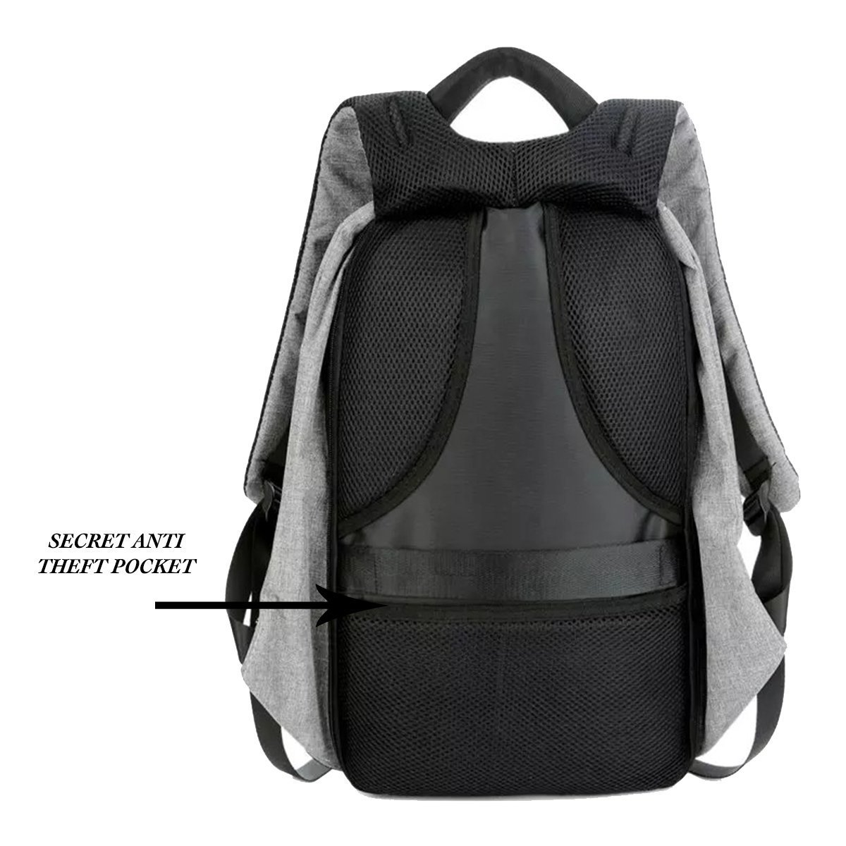 Rewy AB 5611 Anti-Theft Water Resistant Travel Backpack with USB Plug Charging  Port Suitable for Laptop b2305c8900bbc