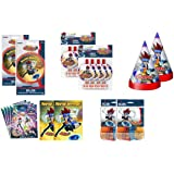 Beyblade Deluxe Accessory Party Pack Balloons Stickers Invitations Hats & Blowouts