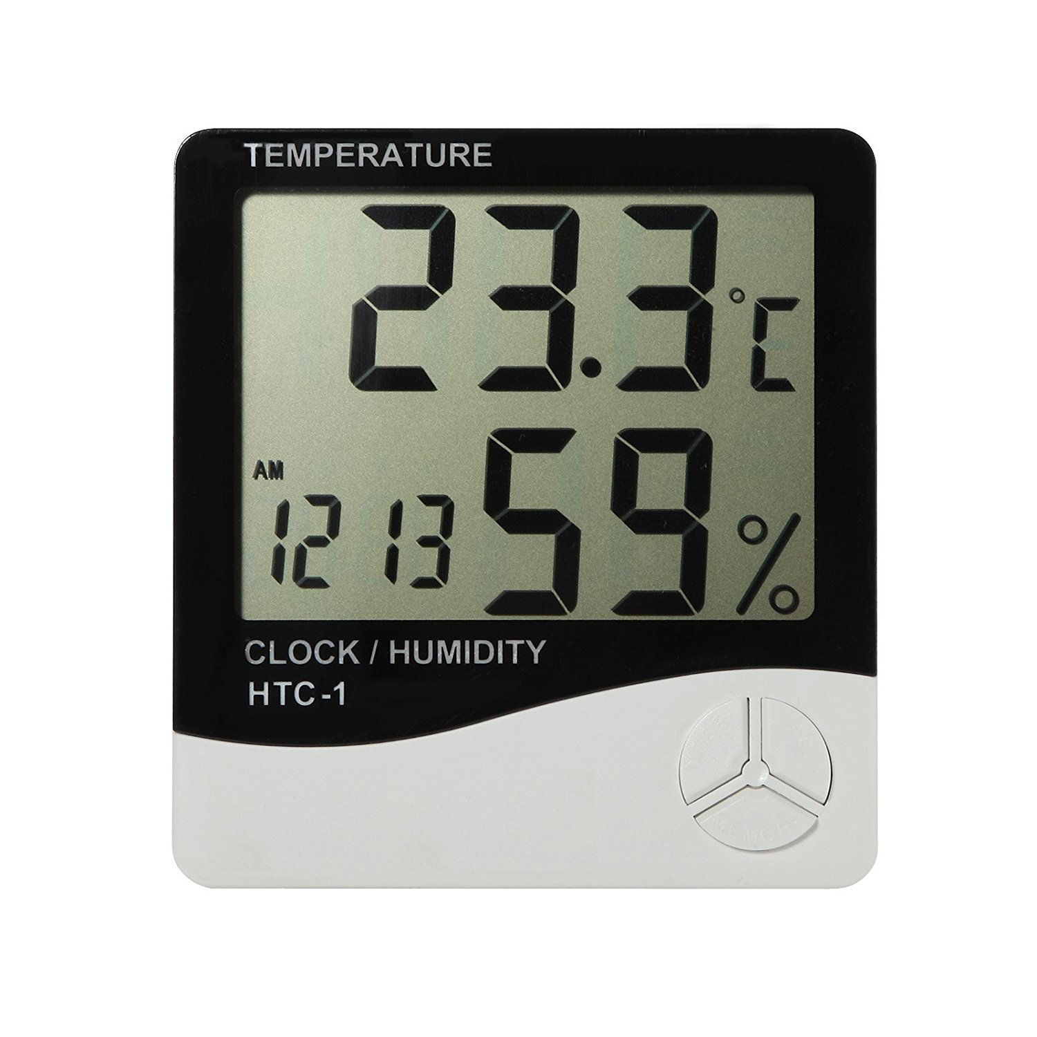 Hydro Plus Hydroponic Hygrometer Thermometer Temperature Humidity Gauge for Indoor Plant Growing