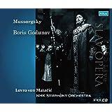 ムソルグスキー : 歌劇 「ボリス・ゴドゥノフ」 全曲 (Mussorgsky : Boris Godunov / Lovro von Matacic & NHK Symphony Orchestra) [1965 Live] [Slav Opera] [3CD] [日本語帯・解説・歌詞大意付]