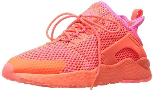 0a4c07825c8a Nike Women s Huarache Run Ultra BR Bright hyper Pink Orange Running Shoes  833292-800