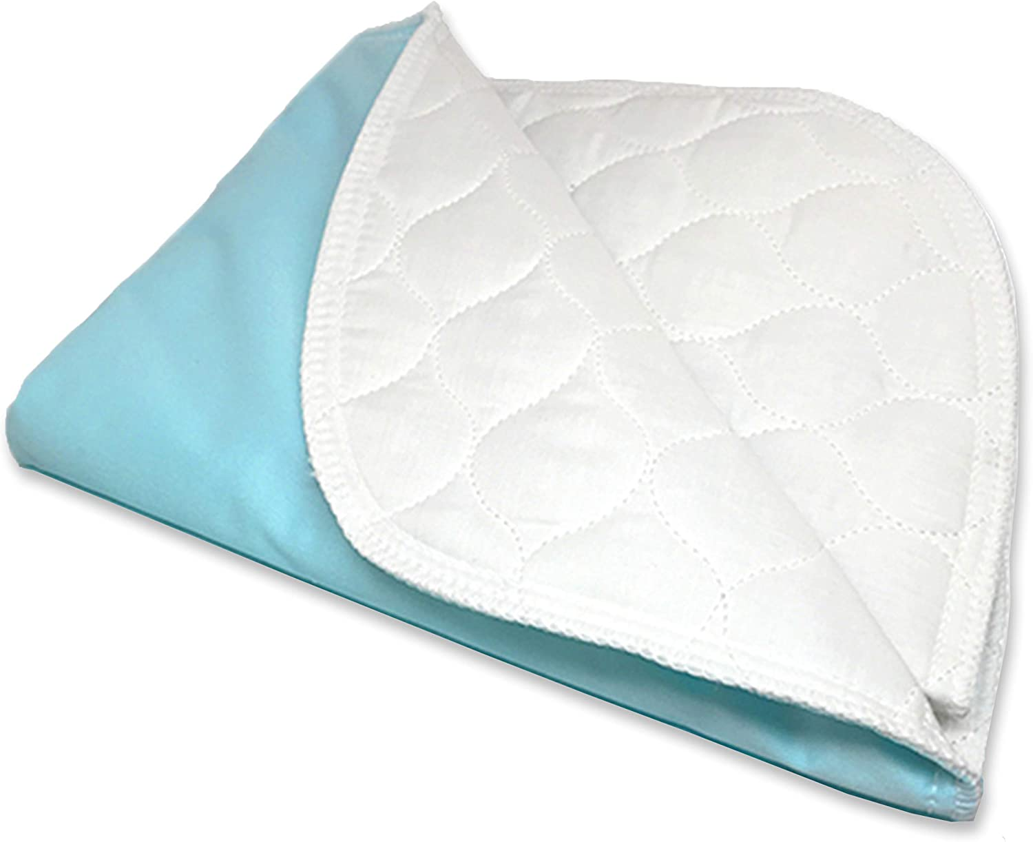 "Ultra Soft 4-Layer Washable and Reusable Incontinence Bed Pad - Waterproof Bed Pads, 34""X54"": Health & Personal Care"