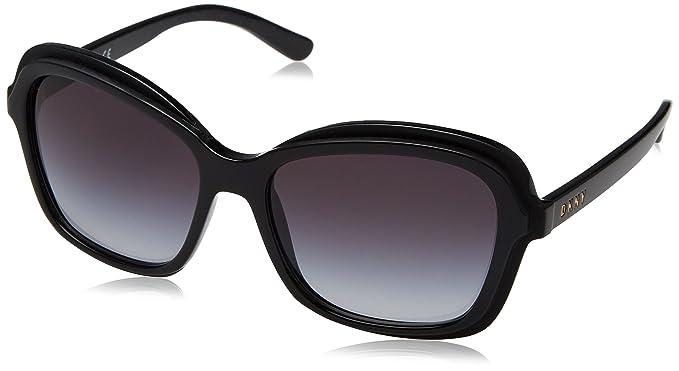 Amazon.com: DKNY Womens Injected Woman Sunglass Rectangular ...