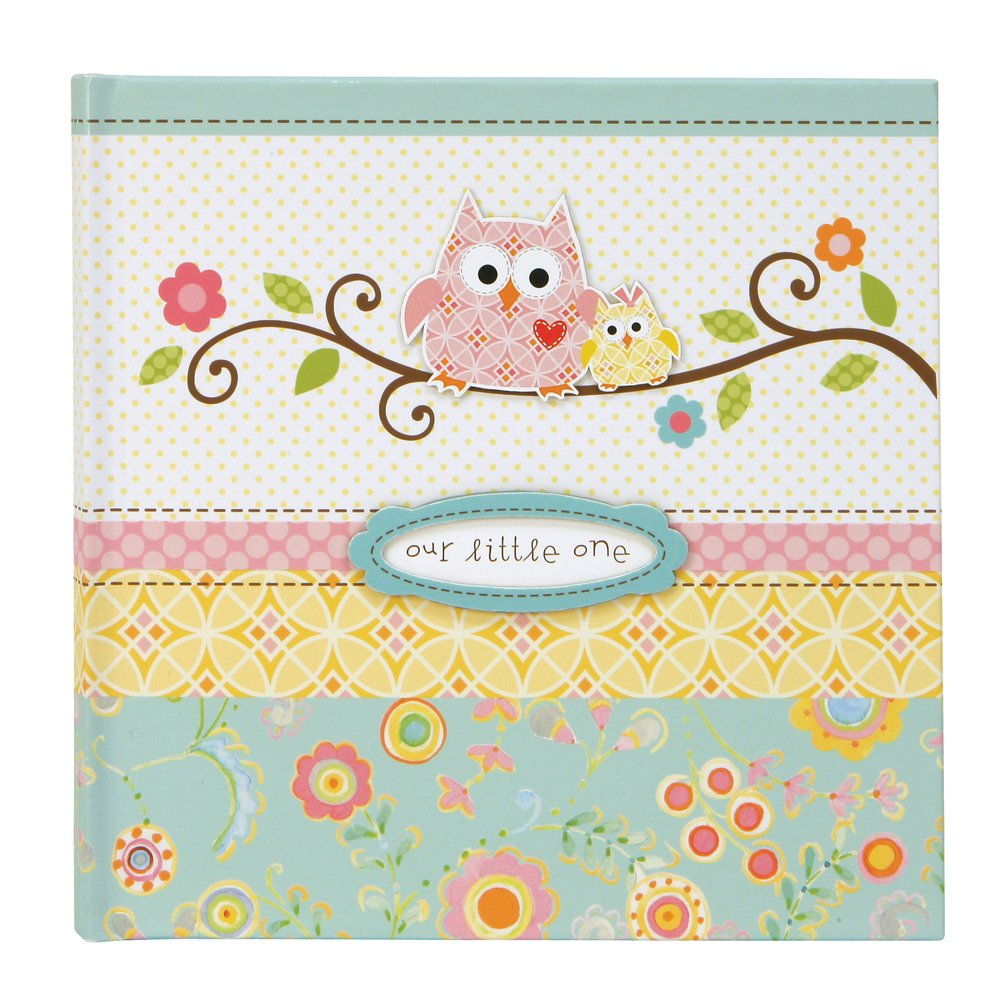 CRG Slim Bound Journal Album for Photos, Happi Baby Girl C R Gibson Company C.R. Gibson BP1-9022 Specialty Journals - General