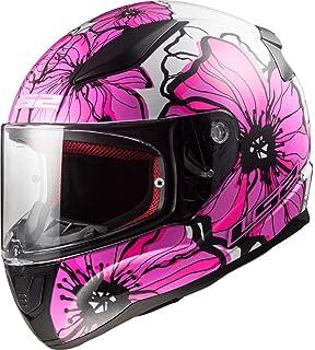 Casco Ls2 Rosa Con Flores Cascos para Motos en Mercado