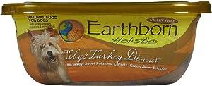 Earthborn Holistic Toby'S Turkey Dinner In Gravy Grain Free Moist Dog Food, 8 Oz, Case Of 8
