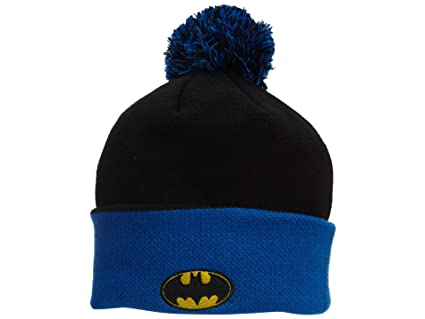 Amazon.com  New Era Batman Beanie Unisex Movie Character Knit Hat ... f4bf27abfc5