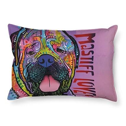 cafetime Funny Boxer perro de mascota fundas de almohada animales diseñado decorativo de cama de sofá