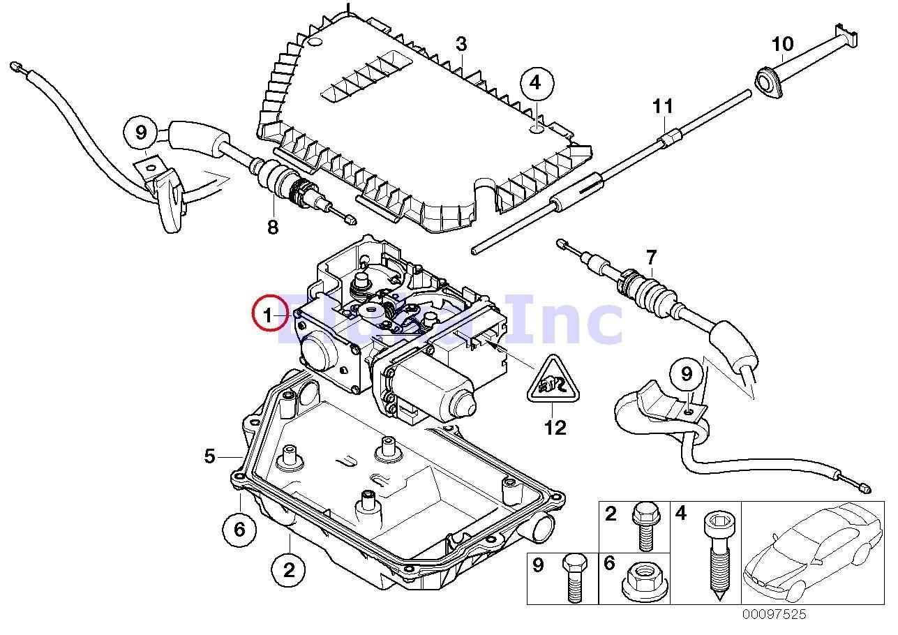 Amazon Com Bmw Genuine Parking Brake Actuator With Control Unit