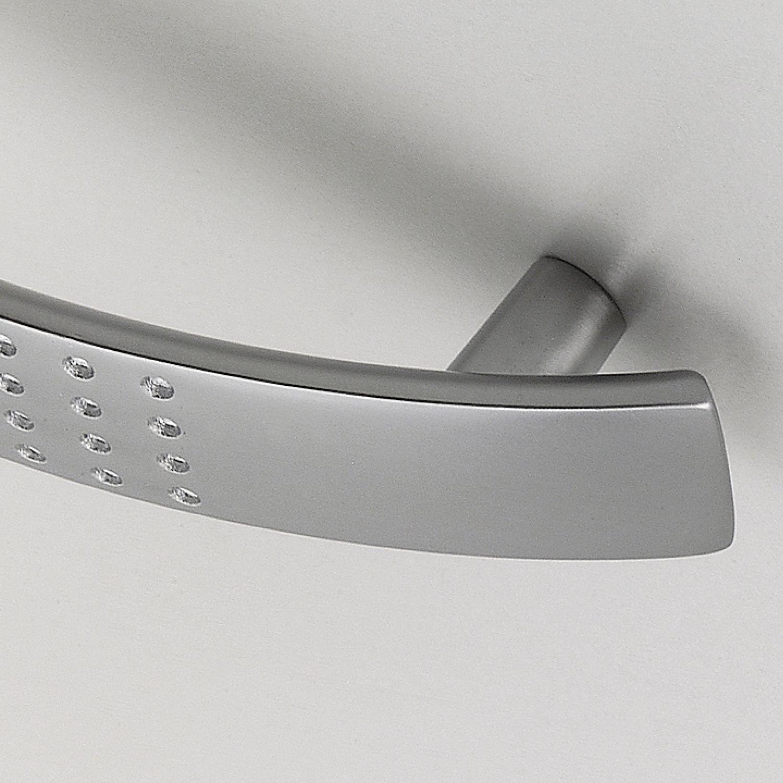 Aluminium verchromt matt Breite 125 mm SIRO 878-128ZN2 Griff Altair Lochabstand 96 mm