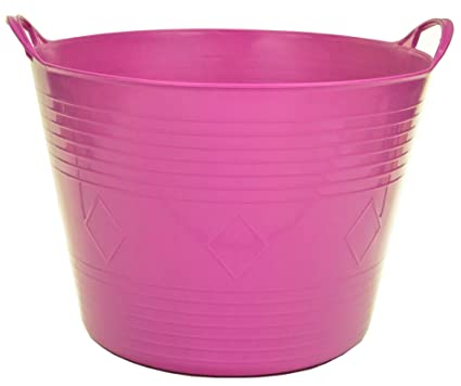 Home & Garden Large Flexi Flexible Plastic Tub Tubs Bucket For Gardening Building Laundry New Home Organization