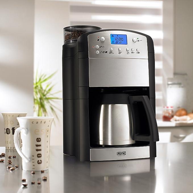 BEEM Germany Fresh-Aroma-Perfect Deluxe - Cafetera completamente automática, mecanismo molturador cónico: Amazon.es: Hogar