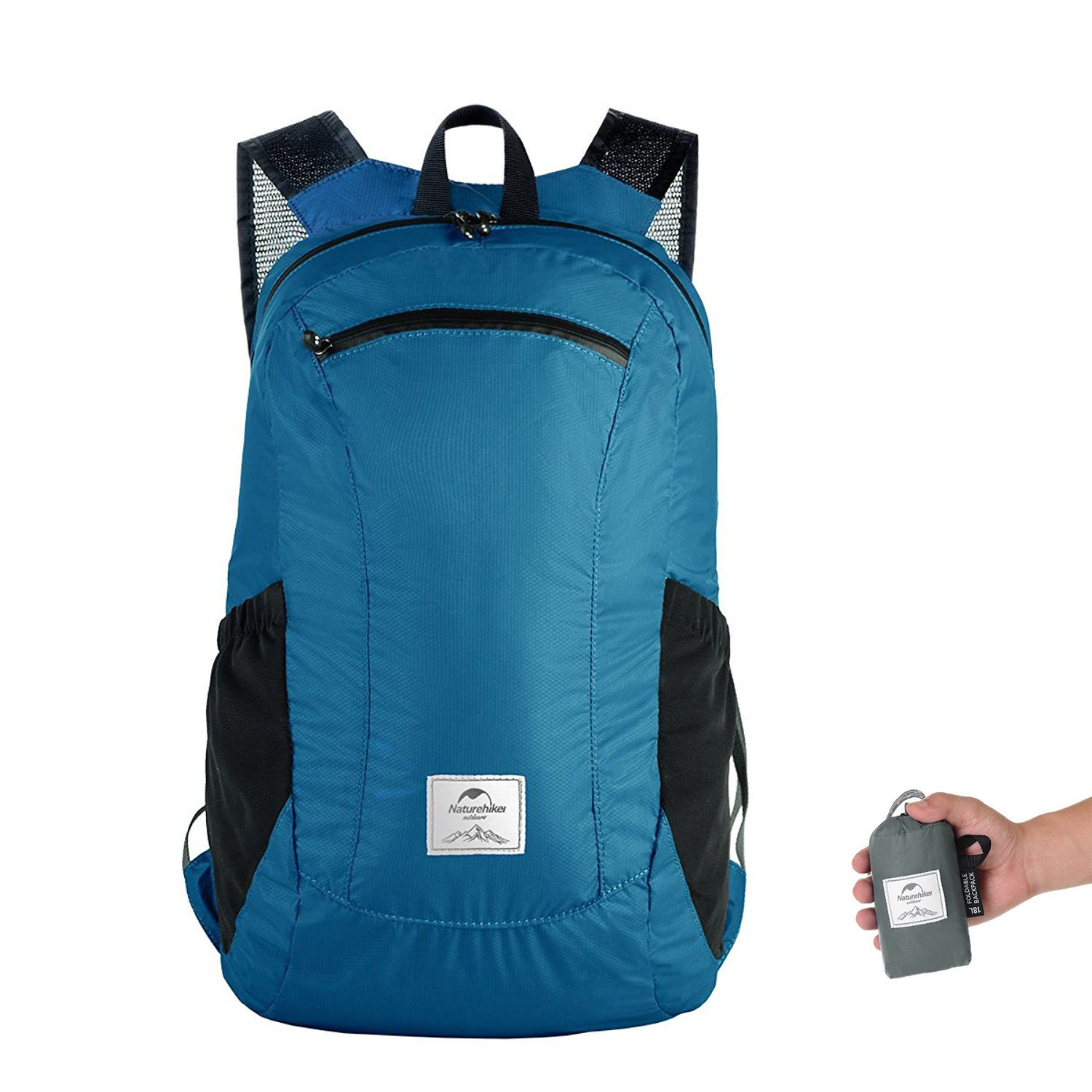 Naturehike 18L - The Most Durable Lightweight Packable Backpack, Water Resistant Travel Hiking Daypack For Men & Women delicate
