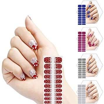 Miss Gorgeous Nail Art Stickers Sheets Variety Flase Fingernail