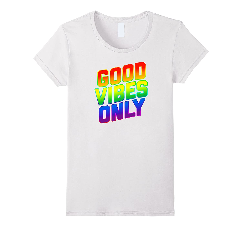Kids Good Vibes T Shirt White-Xalozy
