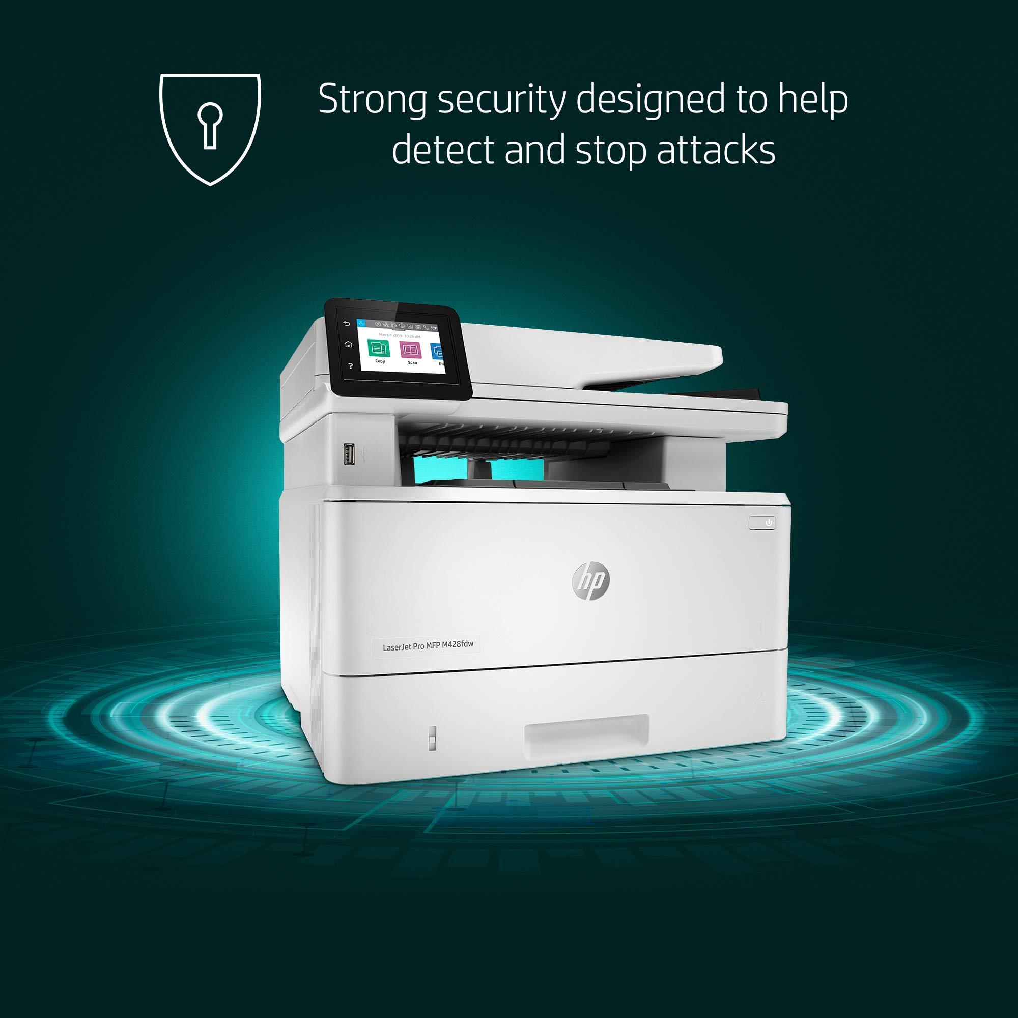 HP LaserJet Pro Multifunction M428fdw Wireless Laser Printer (W1A30A) by HP (Image #6)