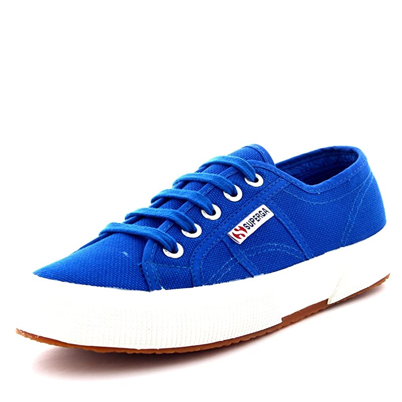 Superga 2750 Cotu Classic Sneakers Low-Top Unisex Damen Herren Blau (Sea Blue)