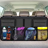 Car Organizer Backseat Car Storage for SUV Trunk Organizer Car Back Seat Bag Space Saving Interior Accessories Mesh Pockets