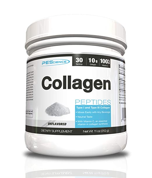 The PEScience Collagen Peptides travel product recommended by Nick Rizzo on Pretty Progressive.