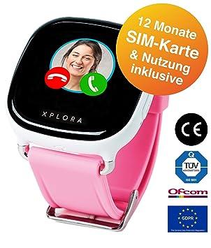 Xplora Teléfono Reloj para niños, Incluye 12 Meses Telefonía, Internet y Xplora de Servicios (Solo para Clientes en Alemania).
