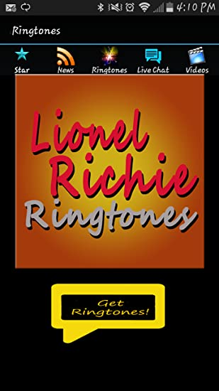 Lionel richie you are ringtone youtube.