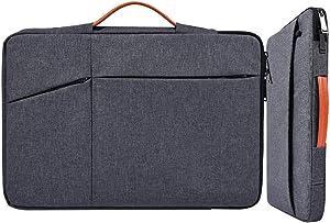 17.3 Inch Laptop Sleeve Bag for Men Women Briefcase for Acer Predator 17, HP Envy 17/Pavilion 17/OMEN 17.3, Dell Inspiron 17/Dell G3 G7 17.3, Lenovo L340 17.3, ASUS ROG, MSI GS75 GF75 17.3 Case, Gray