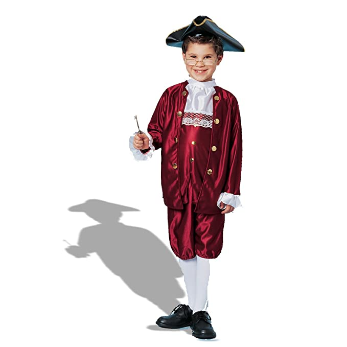 Amazoncom Ben Franklin Costume Medium Toys Games
