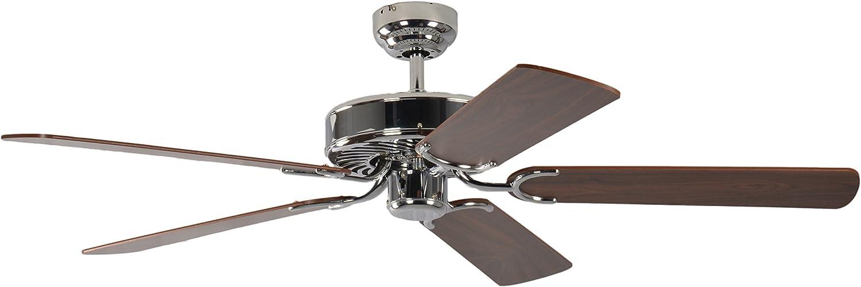 Pepeo GmbH 13322010132_v1 Ventilador de techo, 58 W, 240 V, Gris ...