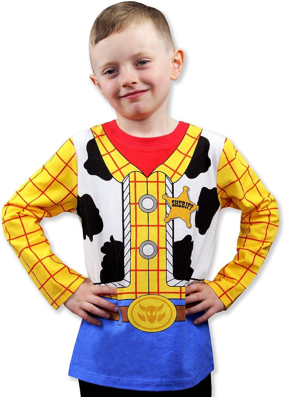 Toy Story 4 Sheriff Woody Boys Girls Baby Toddler Long Sleeve T-Shirt Tee