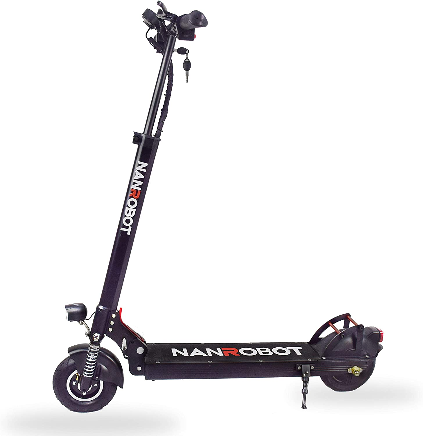 NANROBOT X4 Commuting Electric Scooter Foldable, 8 Explosion-Proof Solid Tire, 500W Motor, Max Speed 20MPH 25 Mile Range of Riding, Max Weight 260lbs