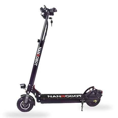 NANROBOT X4 - Patinete eléctrico para Adultos: Amazon.es ...
